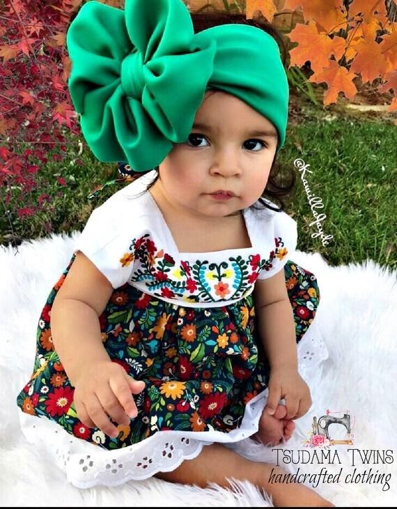 Cinco De Mayo Baby Dress Mexican Baby Dress Cinco De Mayo  20e736d9b3c