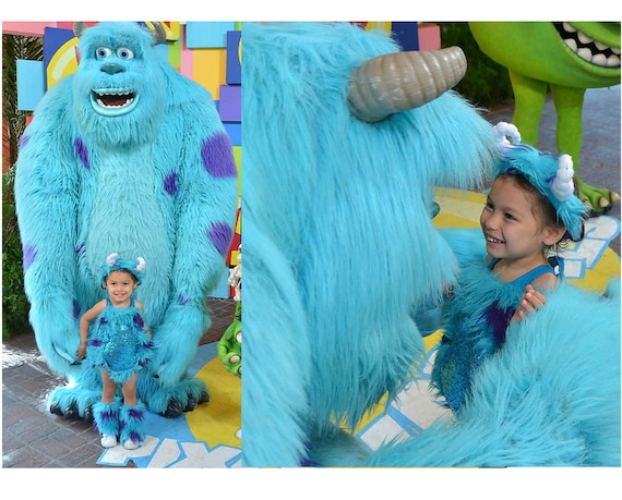 Sully Costume Sulley Monsters Inc Costume Monsters Inc Etsy