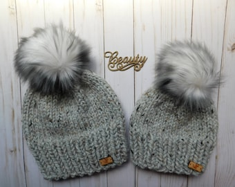 Mommy and Me hats. Mini me and Me. Matching hats for Moms and Kids. Mommy  and son hats. Mommy and daughter hats. Exclusive hats. Arctic fox 2bb002fe435
