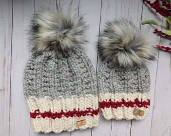 946aeca21fa Mommy and Me Matching hats. Mom and son matching hats. hats for infants  Toddlers Child.Mom and son hats.