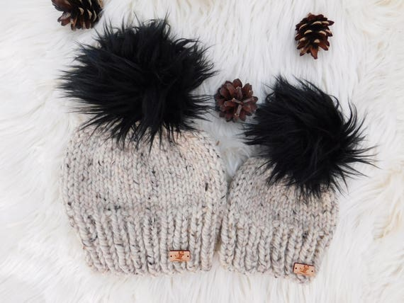 Matching Mommy and Me hats.Mom daughter hats. Mom son  521524a0609