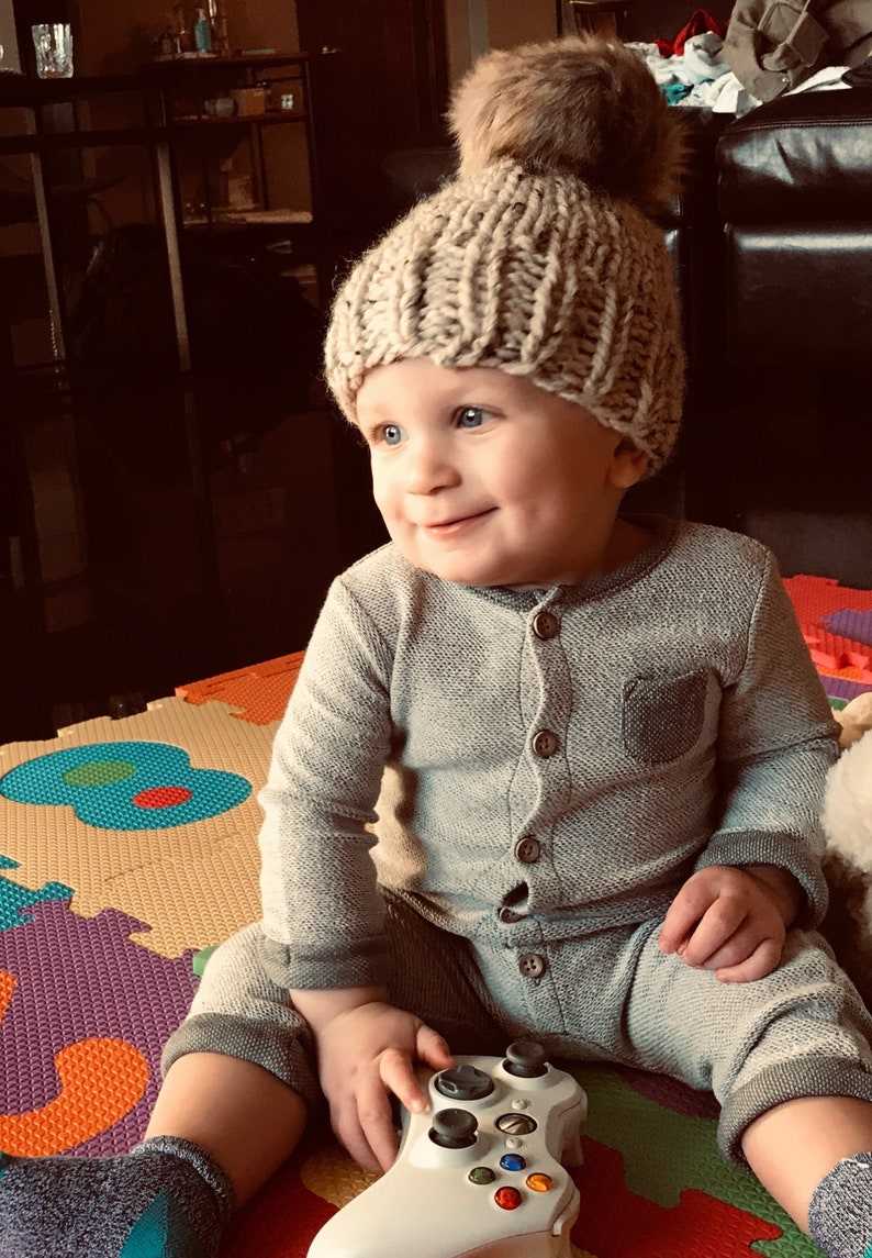 d53a136ce19cb Baby hat knit. Infant hat. Baby boy knit hats. Boys hats. Baby