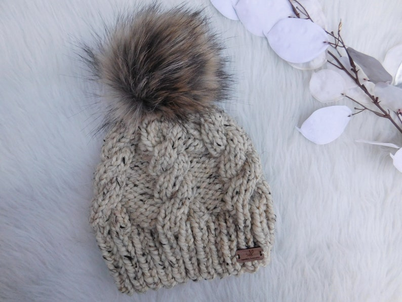5a378df9304 Cabled hat. Amelia hat. Women hat. Baby hat.