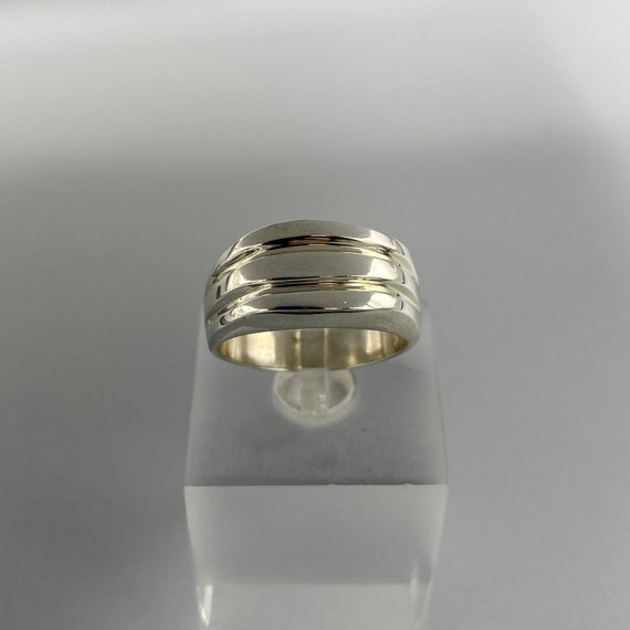 Modernist Sterling Silver Ring Taxco Silver Ring,