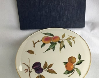 Arden by Royal Worcester Cake Plate 11   in Original Boxed & Royal arden | Etsy