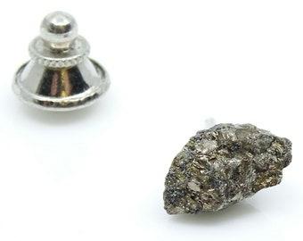 Golden Nugget Shape Vintage Tie Tack Pin