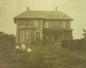 Antique Photos of Springford Ontario Farm House and Pasture