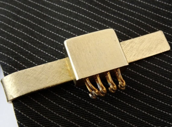 Electromagnetic Relay Vintage Tie Clip Bar Jewelry