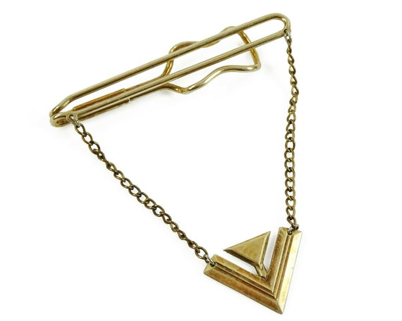 Hadley Vintage Tie Chain Art Deco V for Victory WW