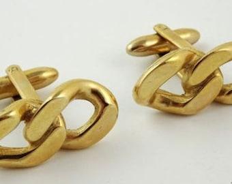 Dynasty Cufflinks Vintage Chain Link Design
