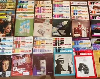 Huge Lot 84 Vintage Canadian Hair-Dresser Hairdresser Magazines 1970s 1980s 1990