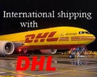 DHL shipping. Want it quicker, or not happy with your postal system. Purchase DHL express shipping with insurance & signature on delivery.
