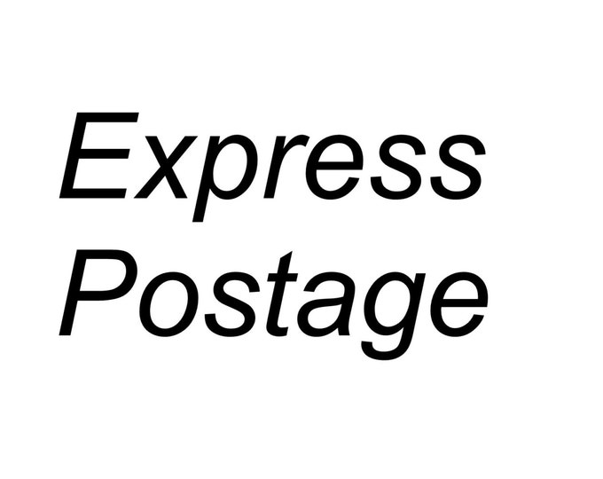 50% off Express Shipping upgrade this listing was 35 Australian dollars now 17 Australian dollars. Express when you need your purchase ASAP.
