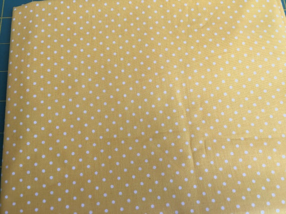 Riley Blake Basics C820-50 Yellow Swiss Dot  by the yard