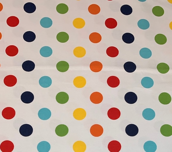 Riley Blake Basics Dots Rainbow