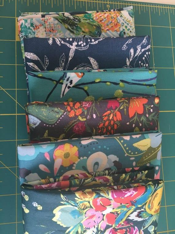 Art Gallery Bari J  Remnant Bundle-4 fabrics