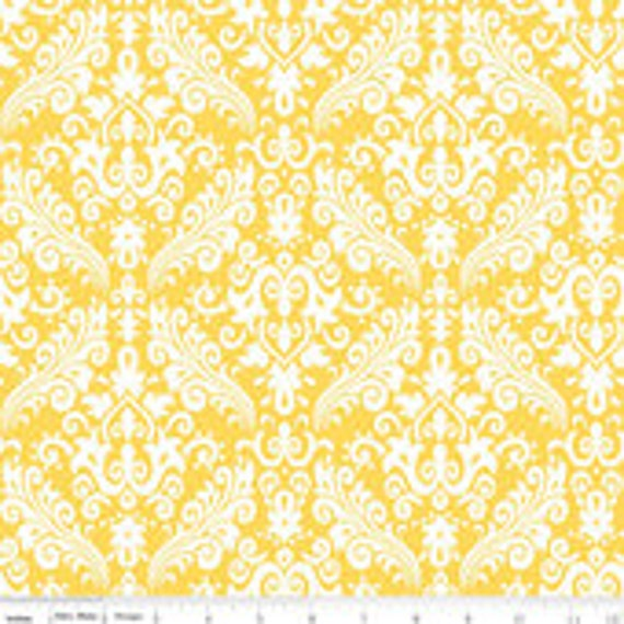 Damask Basics Riley Blake Hollywood C830  Teal 1 1/2 yard remnant