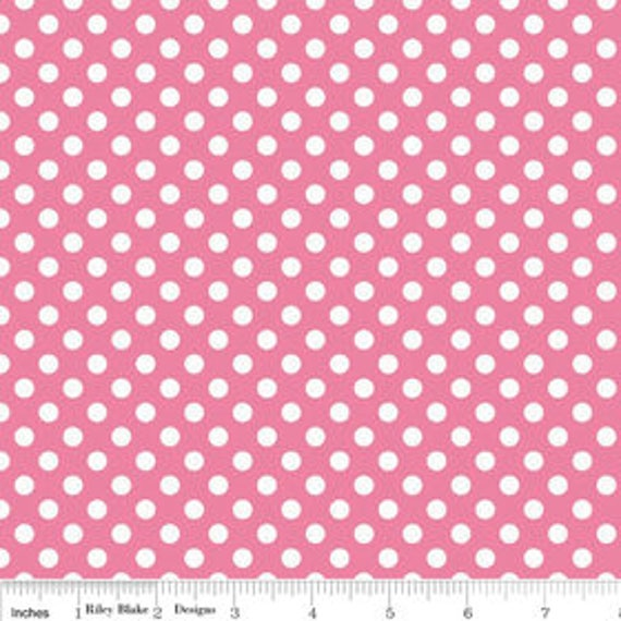 Riley Blake Basics Small Dot 1 yard Remnant