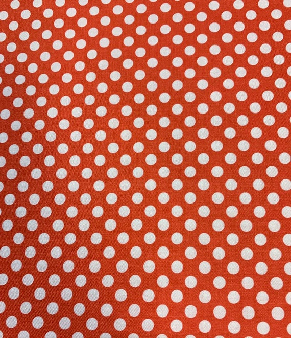 Riley Blake Basics Small Dot Rouge by the yard