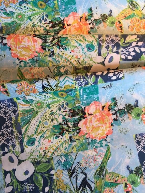 Art Gallery Bari J Millie Fleur 1/2 yard remnant