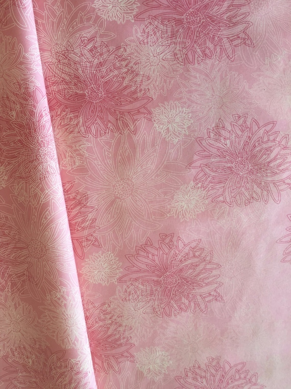 Art Gallery Floral Elements Blush 3/4 yard