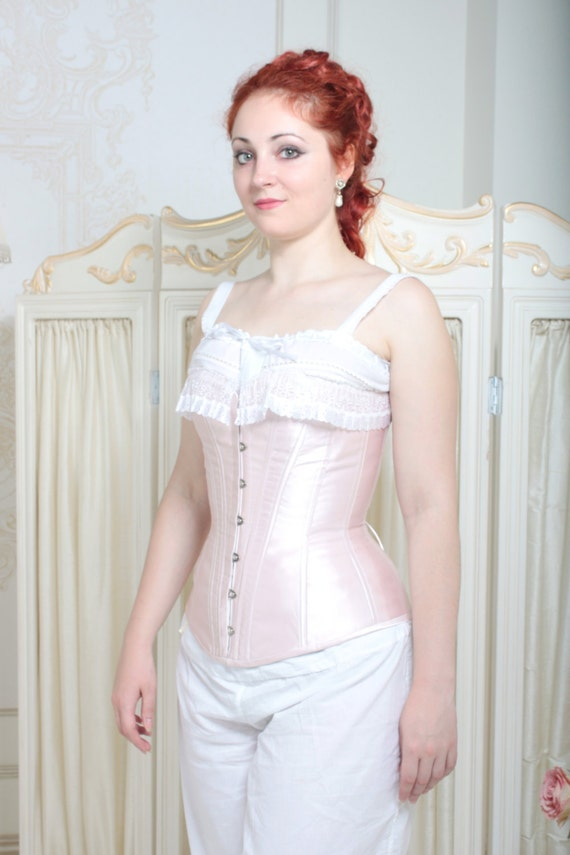 Victorian Corsets – Old Fashioned Corsets & Patterns Victorian Corset 1880s English Rose Corset $220.00 AT vintagedancer.com