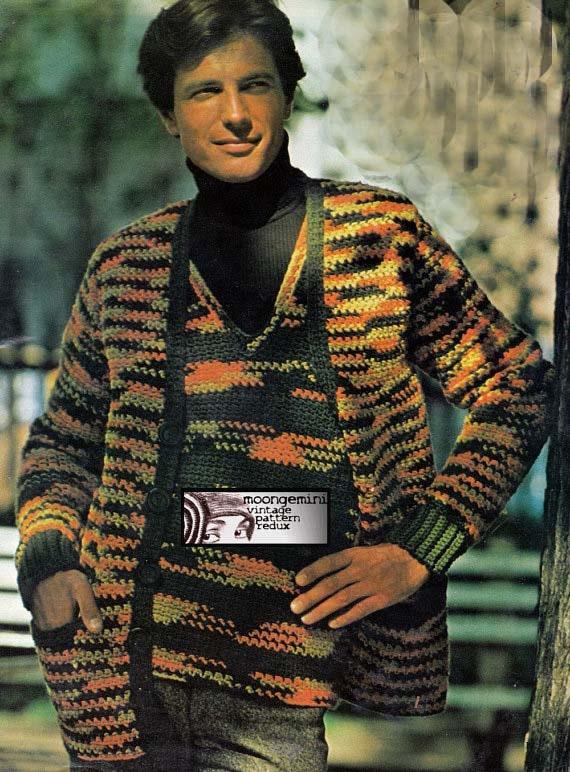Crochet Sweater Set Men's Crochet Pattern PDF Instant Etsy Stunning Mens Crochet Sweater Pattern