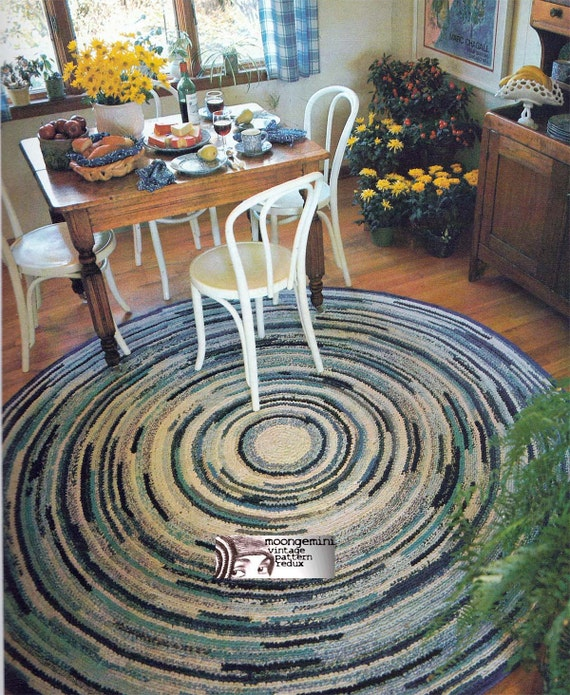 Crochet Rug Pattern Rag Rug Just Like Grandma Used To Make