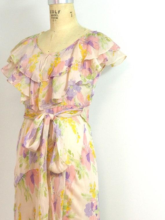 Vintage 1930's Floral Dress