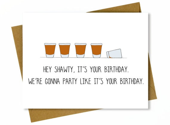 Funny Birthday Card For Friend Best
