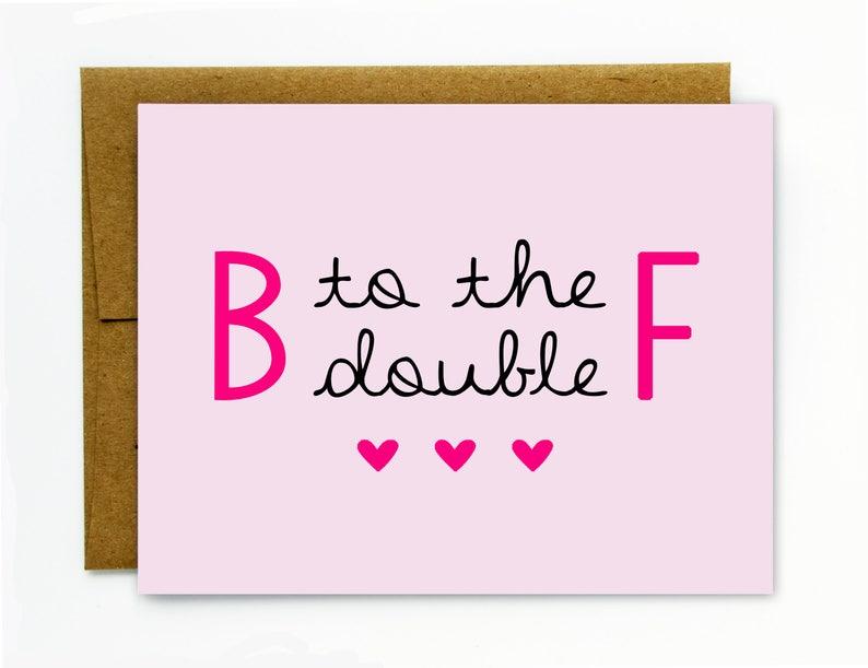 Geburtstagskarte Schreiben Lustig.Lustige Geburtstagskarte Fur Die Beste Freundin Susse Bester Freund Geburtstagskarte Bff B Um Das Doppelte F