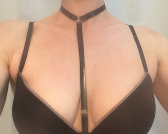 Latex T-Harness