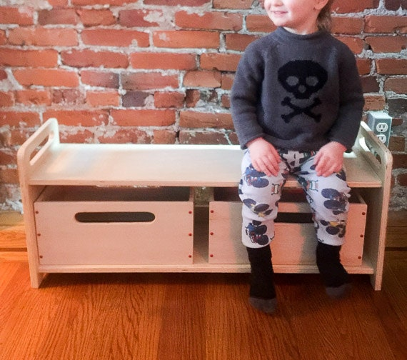 Peachy School Bench Kids Bench Wooden Bench Childrens Bench Storage Bench Low Hallway Bench Day Care Bench With Or Without Storage Bins Beatyapartments Chair Design Images Beatyapartmentscom