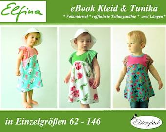 ebook ELFINA girl summer dress tunic sewing pattern pixie fay elf