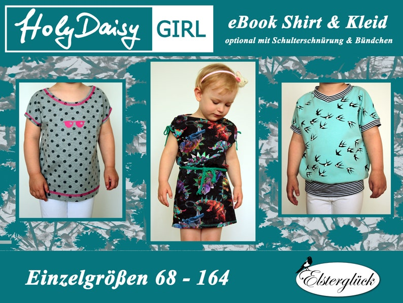 eBook HolyDaisy GIRL Schnittmuster Mädchen Kleid image 0