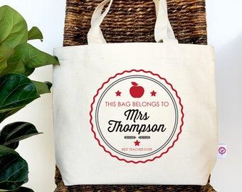 This Bag Belongs To...Teacher Tote Bag