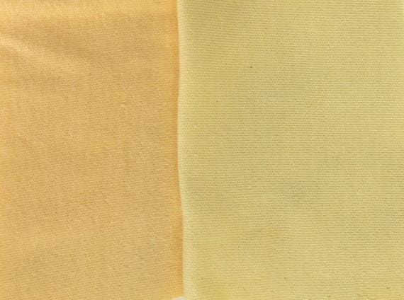 e5a66ad5969 Organic KNIT Cotton Interlock Fabric: Solid Daffodil Yellow or | Etsy