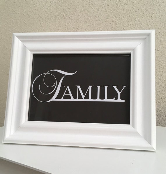 Family sign, printable, instant download, home decor, family wall art, wall decor, family printable, housewarming gift, printable wall decor