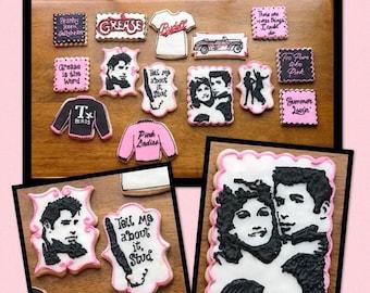 GREASE sugar cookie set