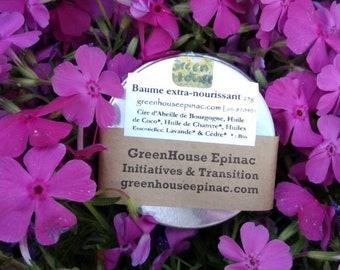 Balm Extra Nourishing Heal Repair Local beeswax Organic oils