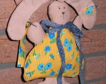 Fabric Bunny door decoration