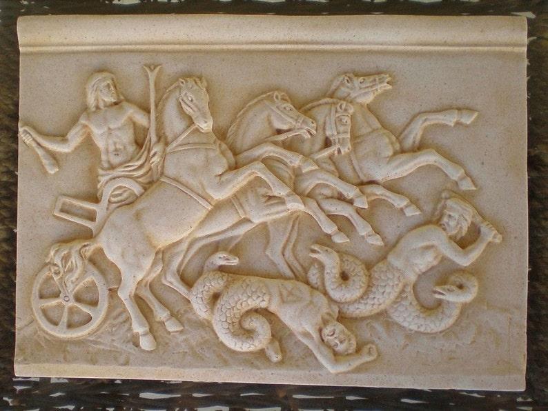 Image result for titanomachy greek mythology relief