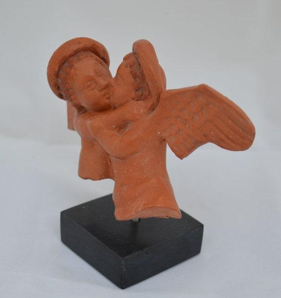 Sleeping Eros Ceramic Figurine-Museum Replica-God of Love-Son of Aphrodite-Cupid