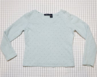 Tumblr Club Kid Clueless M Candy Color Block Sweater Y2k 90/'s Sweater Halter Aesthetic