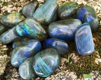 Personal Magic, Tumbled Labradorite, New Moon Magic