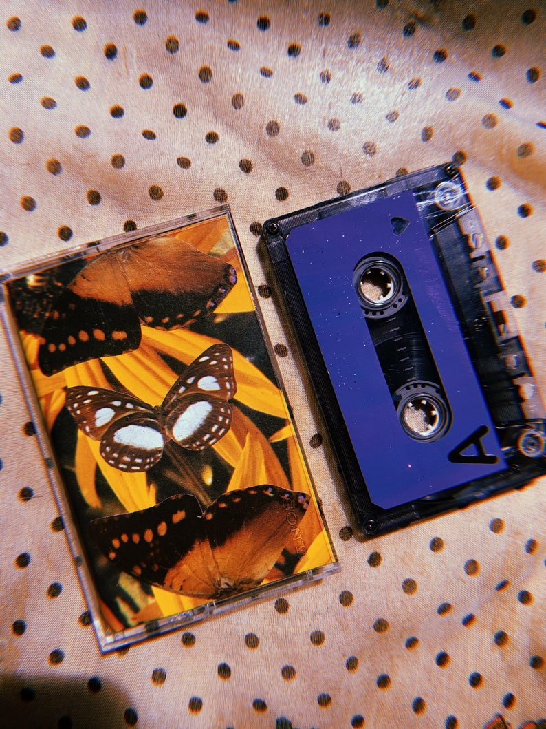 Personalized Cassette Mixtape  For Your Crush Anniversary image 0