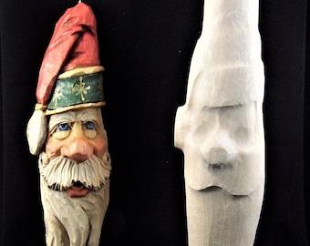 Santa Ornament 2005 Rough Out