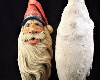 Santa 2010 Ornament Rough Out