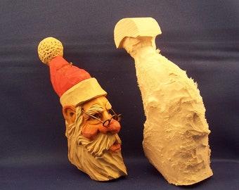 2017 Santa Ornament #2  Rough Out