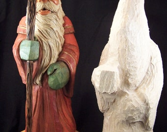 Old World Santa Rough Out